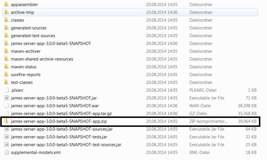 Apache James Server 3 0 - Apache James Server 3 - Build Apache James